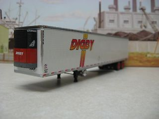 DCP DIGBY TANDEM AXLE REEFER TRAILER ONLY 1/64 #2