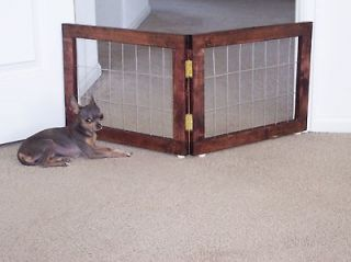 Expanding Wood Barrier/Dog/Fe​nce Pet Gate, thedogstopper,