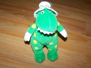 The Wiggles Dorothy the Dinosaur Bean Bag Plush Dino Green Stuffed