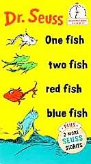 Dr. Seuss   One Fish Two Fish Red Fish Blue Fish VHS, 1994