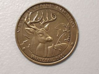 AMERICAN HUNTING CLUB BIG GAME SERIES COLLECTORS MEDAL EAGLE WHITETAIL