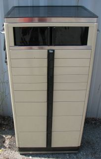 American Cabinet Co. 50s/60s ? Vintage Art Deco Style Dental Cabinet w