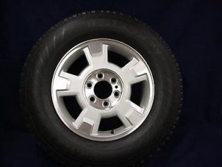 FORD F150 PICKUP 09 12 17 SILVER/MACHINED 5 SPOKE ALLOY WHEEL & TIRE