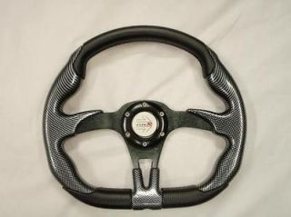 823 BLACK STEERING WHEEL FOR JOHN DEERE GATOR