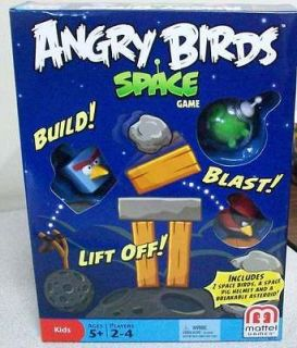 ANGRY BIRDS SPACE RACE CHILDRENS BOARD GAME AUTHENTIC NEW IN BOX