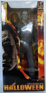 MICHAEL MYERS Halloween Movie 18 inch Figure with Sound Neca Reel