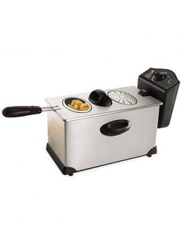 Bella Stainless Steel Deep Fryer   Electrics   Kitchens