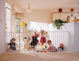 KidCo Elongate Safety Gate Extra Wide, 48 to 60 wide