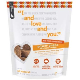 Home Dog Food I and Love and You Power Pucks Freeze Dried Dog Food