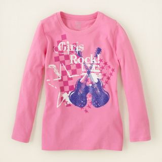 girl   girls rock graphic tee  Childrens Clothing  Kids Clothes