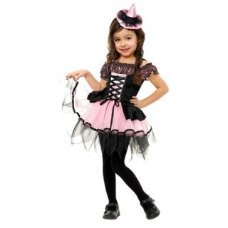 Black and Pink Witch Toddler Costume   Size 2T 4T  Meijer