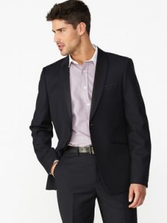 Goodsouls Mens Shine Shawl Collar Suit Jacket  Littlewoods