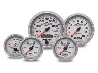AutoMeter Ultra Lite II Gauges, Auto Meter Ultra Lite II Gauges