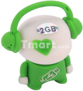2GB Music Man Style USB Flash Drive   Tmart