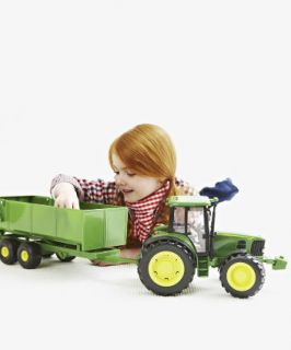 John Deere 6930S Tractor and Trailer   farm toys & animals