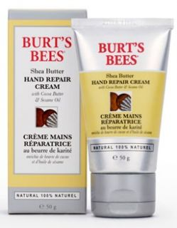 Burts Bees Shea Butter Hand Repair Cream 50g   Free Delivery
