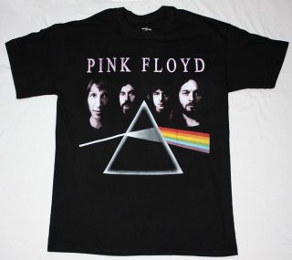 THE DARK SIDE OF THE MOON BAND ROGER WATERS GILMOUR NEW BLACK T SHIRT