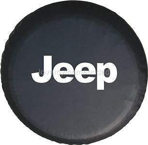 97~06 JEEP Wrangler Liberty Spare Tire Cover Soft Leather 30x9.50R15