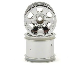 HPI 2.2 Warlock Wheel Set (Chrome) (2) (XS) [HPI106722]  RC Cars