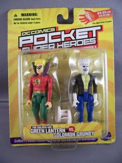 Green Lantern/Solomon Grundy Pocket Super Heroes Figure
