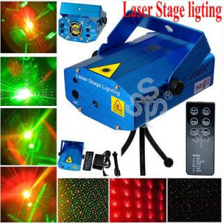 Blue Mini Laser Stage Lighting For Club Disco DJ House Party Light w