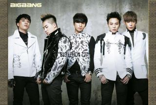 Big Bang BIGBANG G Dragon,Tae Yang,T.O.P KOREAN BAND Poster 24