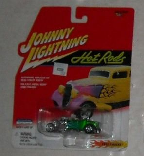 2000 JOHNNY LIGHTNING HOT RODS 1923 T BUCKET 2 MOC