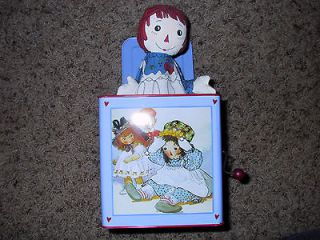 Raggedy Ann Jack in the Box in Very Good Condition by Schylling Simon