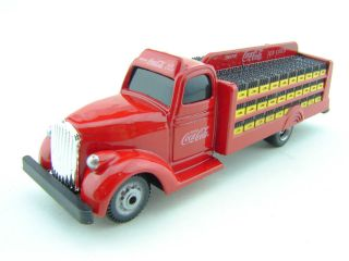 1938 Coca Cola Bottle Delivery Truck Red Diecast Model 187 HO Scale