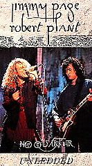 Jimmy Page Robert Plant No Quarter Unledded VHS, 1995