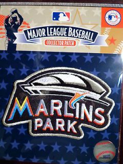 MLB Official Miami Marlins New Stadium Commemorative Patch Road Jersey