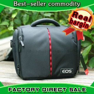 Canon Camera Bag Shoulder DSLR SLR 600D 7D 60D 550D case EOS 50D 5D