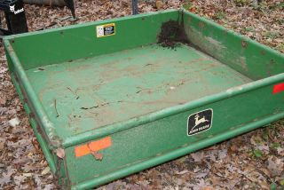 John Deere Gator dump bed with hydraulic hoist