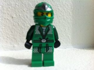 LEGO NINJAGO GREEN NINJA LLOYD ZX 9574 w SPINNER AND ACCESSORIES NEW