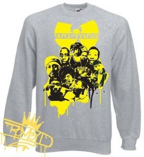 clan t shirt sweater method man hip hop killa bees cd rza gza odb chef