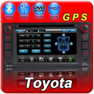 RAV4 COROLLA Hilux Land Cruiser Prado Fortuner Yaris GPS Radio CD