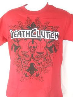 death clutch fester cardinal red t shirt new