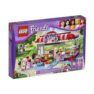 lego friends city park cafe 3061 new in box time