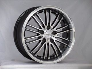 18 BLACK MACHINE WHEELS RIMS LEXUS ISF LS LFA LS400 LS430 LS450