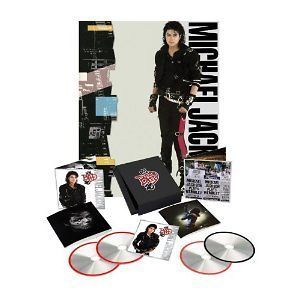 Michael Jackson   Bad 25 3CD/DVD Box set $44.95 25th Anniversary