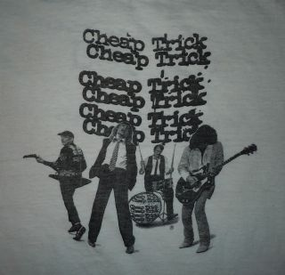 1979 CHEAP TRICK AC/DC THE BABYS MOLLY HATCHET ROCK CONCERT SHIRT