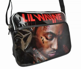 lil wayne hip hop postman tear laptop carry bag 02