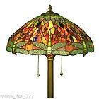 Dale Tiffany Lily Pad Dragonfly Lamp Light Green NEW