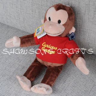 APPLAUSE CURIOUS GEORGE PLUSH STFFED TOY 16 MONKEY SOFT FIGURE