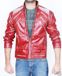 Newly listed Michael Jackson Beat it Leather Jacket Billie Jean Gift