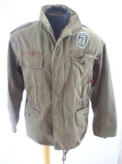 rolling stones 2006 world tour miltary jacket size small time