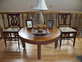 newly listed antique round coffee table black cherry wood 220