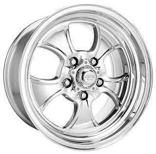 American Racing Polished Hopster Wheel 15x6 5x4.5 BC Set of 2