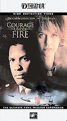 Courage Under Fire VHS, 2003, D VHS D Theater High Definition Video
