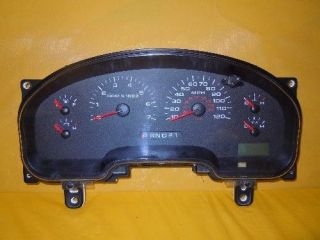 06 FORD F150 PICKUP 2006 SPEEDOMETER INSTRUMENT CLUSTER DASH PANEL